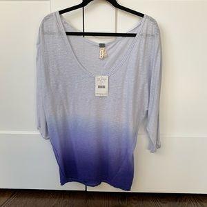 🆕 Free people 3/4 sleeve t-shirt - longer length